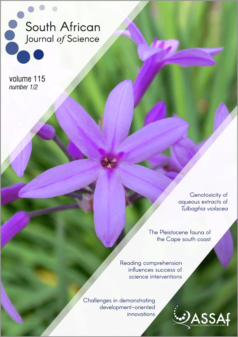 View Vol. 115 No. 1/2 (2019)